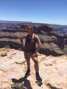 Laces & Wheel representing at the Grand Canyon!